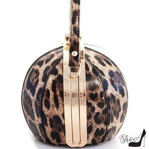 My Bag Lady Online Bags - Ball Leopard Handbag